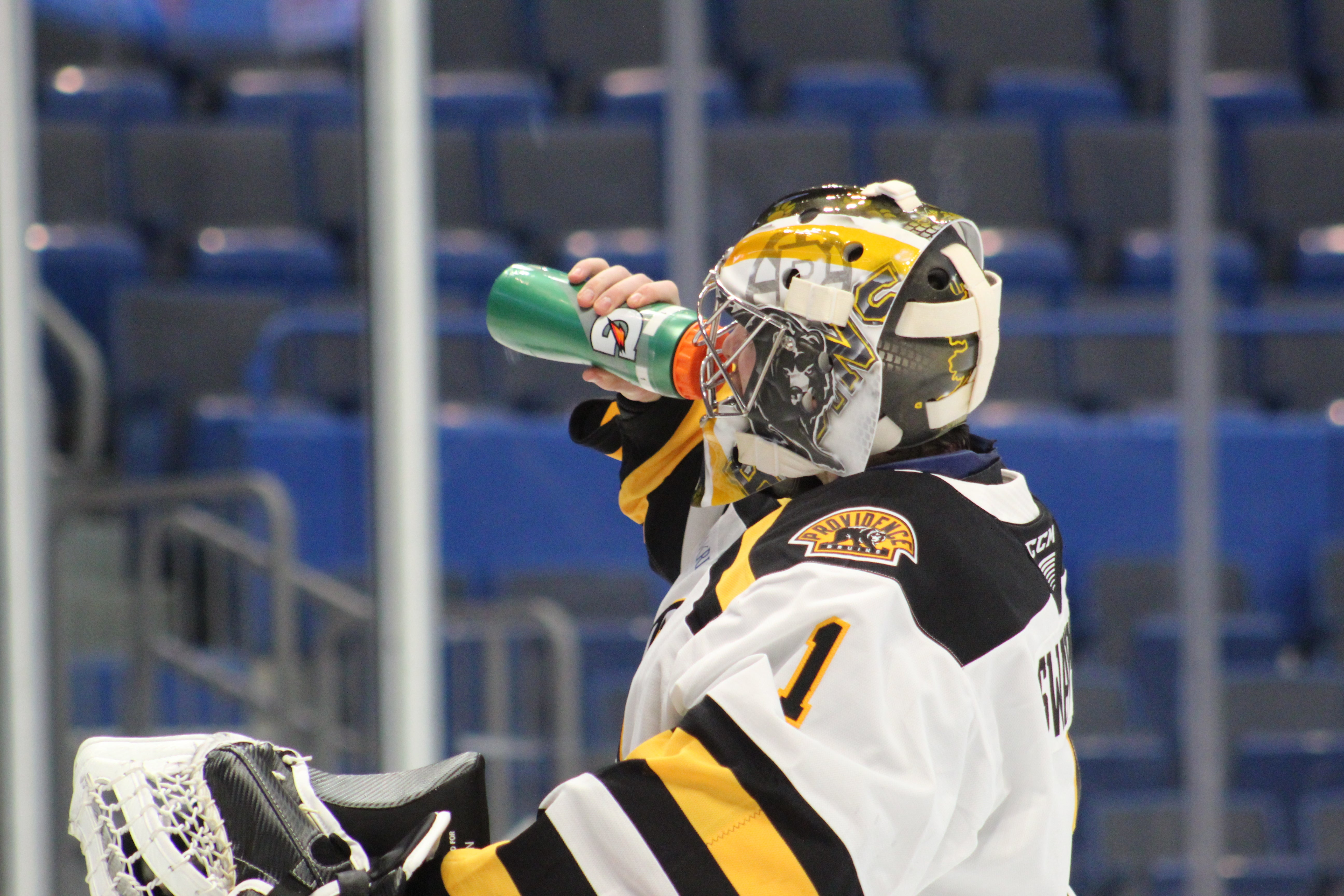 P-BRUINS RETURN TO WIN COLUMN WITH 3-0 WIN OVER BRIDGEPORT SOUND TIGERS