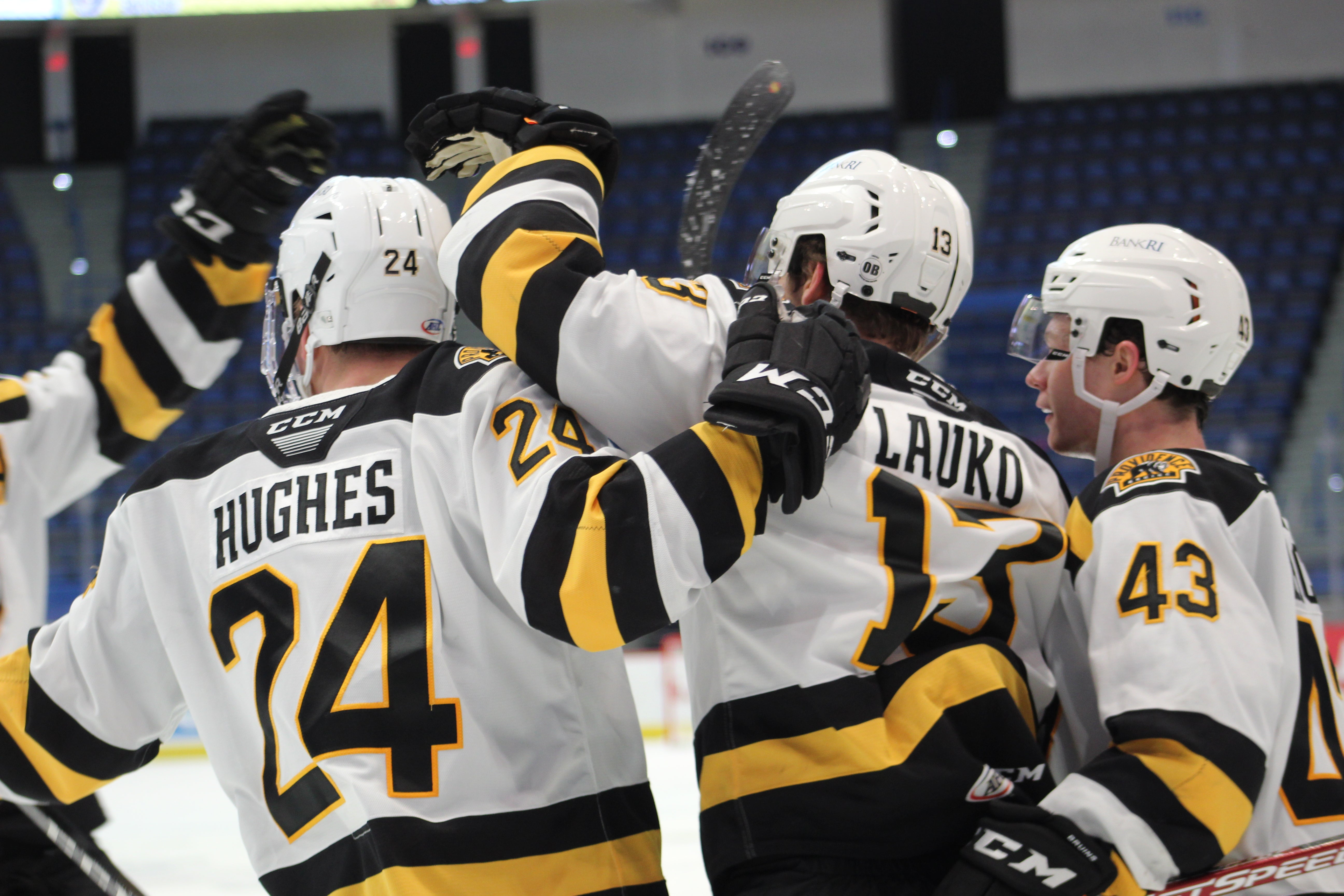 P-BRUINS RETURN TO THE WIN COLUMN, DEFEAT HARTFORD WOLF PACK, 4-2