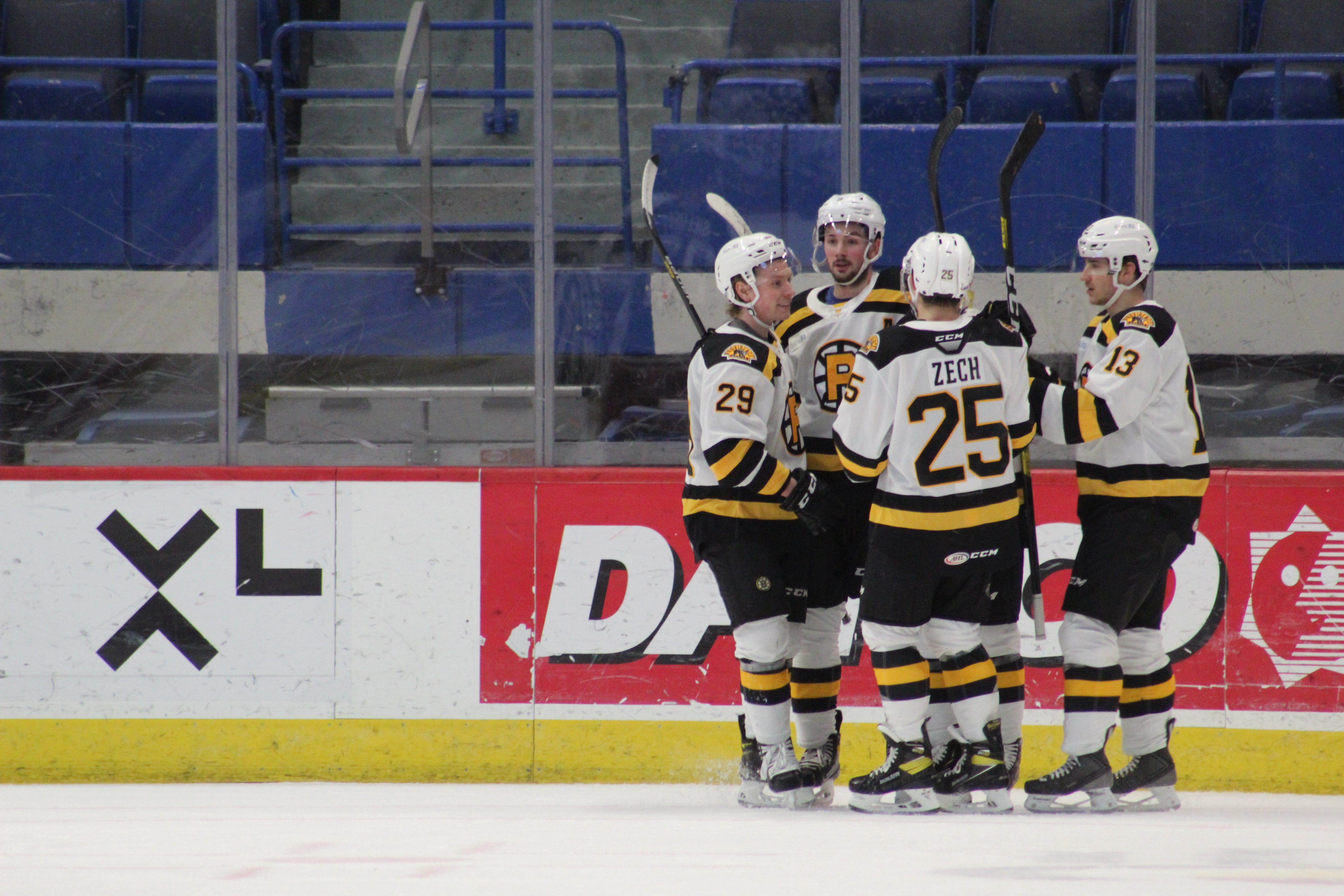 ASSELIN'S HAT TRICK PROPELS P-BRUINS TO 4-2 WIN OVER HARTFORD WOLF PACK