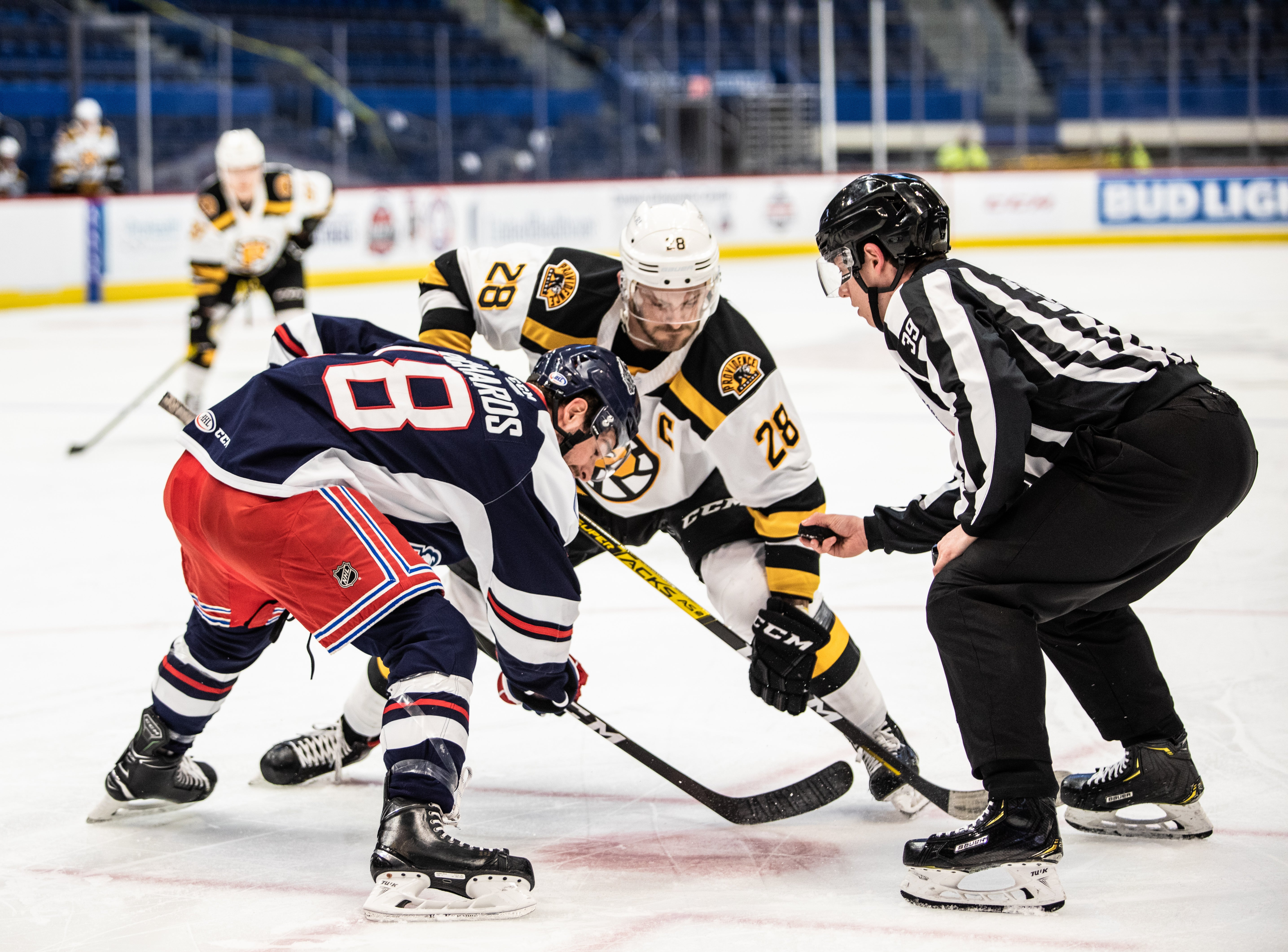 P-BRUINS FALL TO HARTFORD WOLF PACK, 6-1