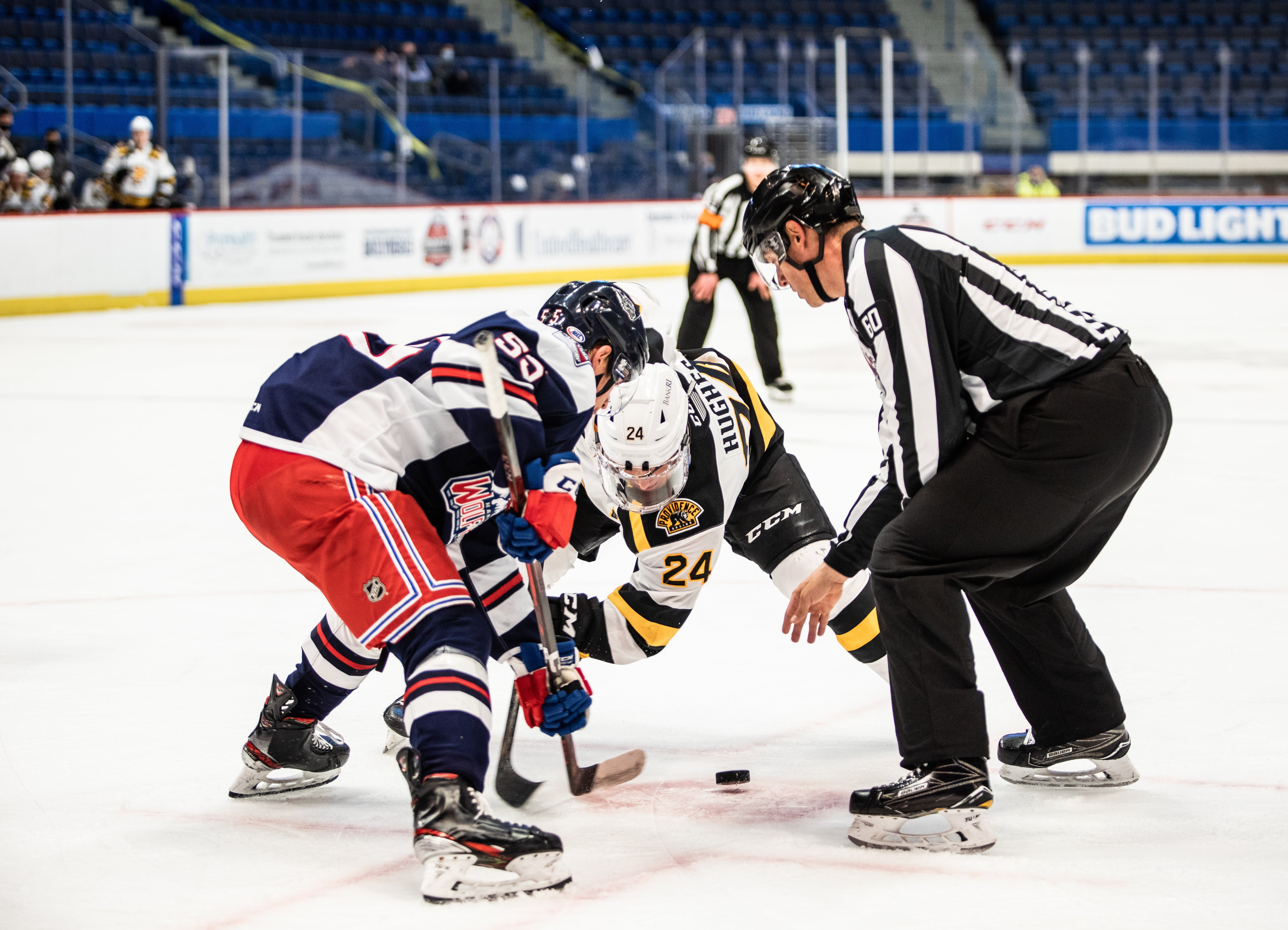 P-BRUINS FALL TO HARTFORD WOLF PACK IN OVERTIME, 3-2