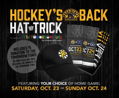 Hockey's Back Hat Trick