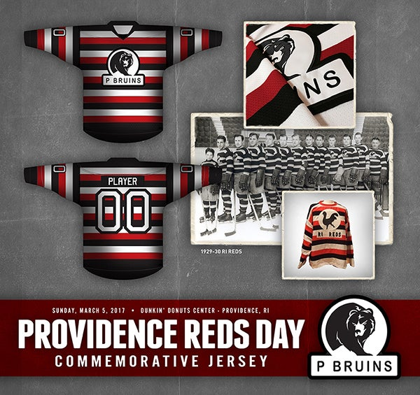 best service 60903 fc181 P-BRUINS HONOR PRO HOCKEY IN PROVIDENCE WITH COMMEMORATIVE ...