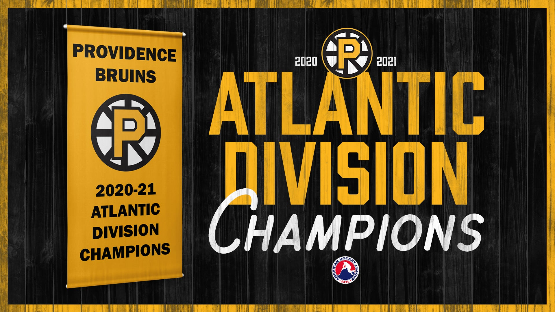 P-BRUINS WIN ATLANTIC DIVISION FOR SECOND CONSECUTIVE SEASON WITH 6-3 WIN OVER HARTFORD WOLF PACK