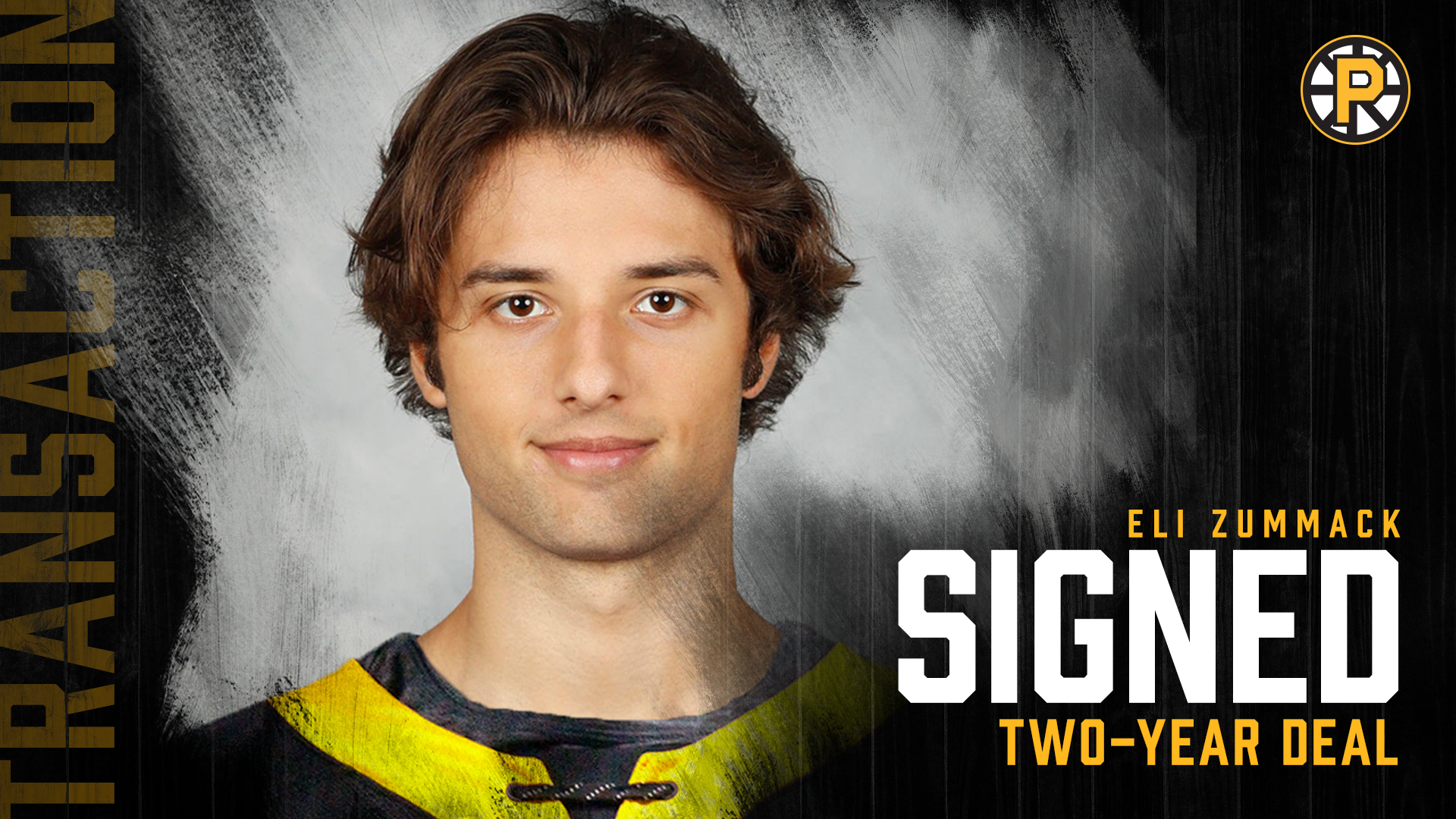 PROVIDENCE BRUINS SIGN ELI ZUMMACK TO TWO-YEAR AHL CONTRACT