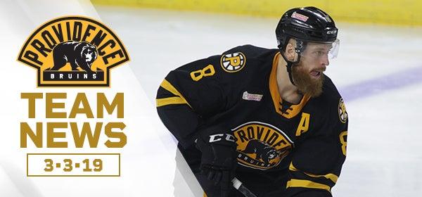 Chris Breen Named P Bruins 2018 19 Ioa American Specialty Ahl Man Of